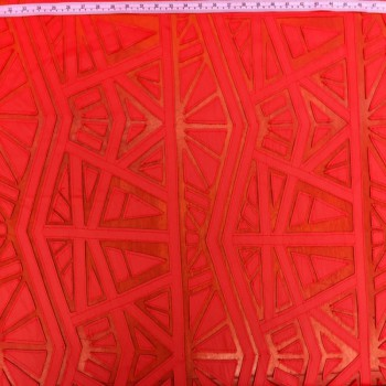Leather Lace (Red)