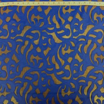 Leather Cutouts (Royal Blue)