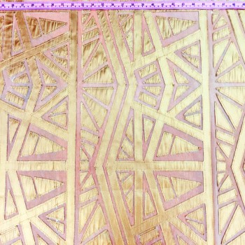 Leather Lace (Gold)