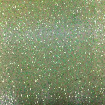 Stretch Sequins (Lime Hologram Design)