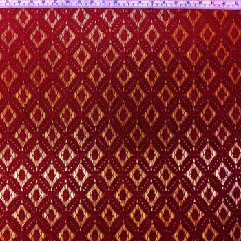 Red Lace (Geometric Pattern)
