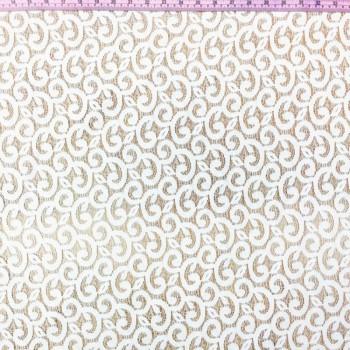 White Swirl Lace