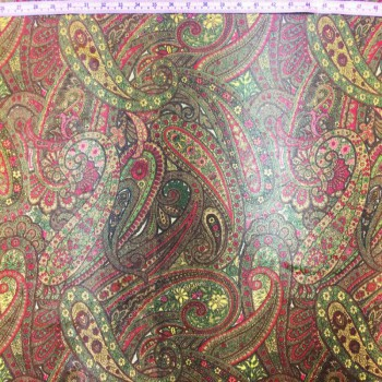 Paisley Mesh Print (Brown)