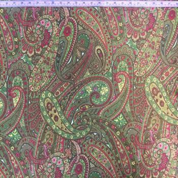 Paisley Print (Brown)