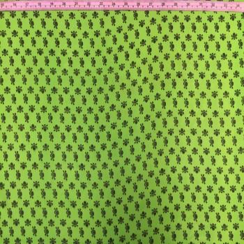 Neon Green Skull Chiffon