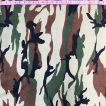 Fleece Camo Print