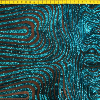 Stretch Sequins (Turquoise)