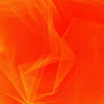 Neon Orange Tulle