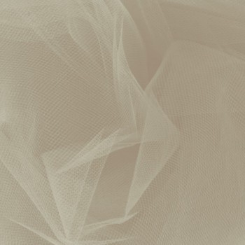 Off White Tulle