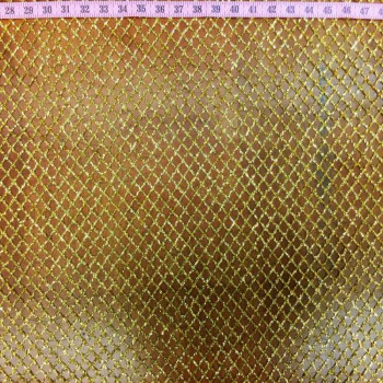 Gold Laser Cut Glitter Stone