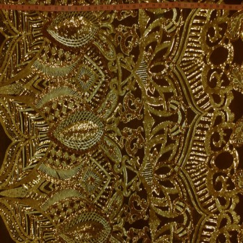 Armani Sequins (Gold on black)