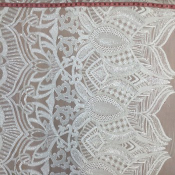 Armani Sequins (White)