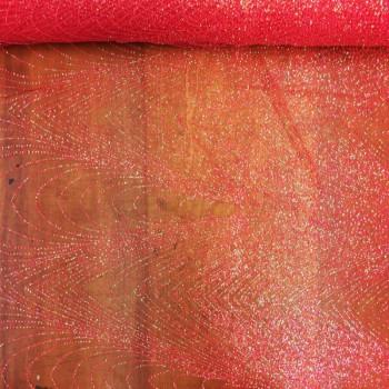 Designer Coral Glitter Stone