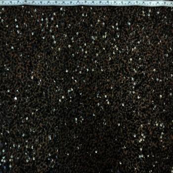 Beaded Sequins (Dark Black)