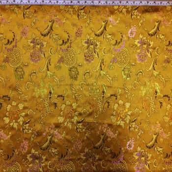 Gold Floral Wreath Brokate
