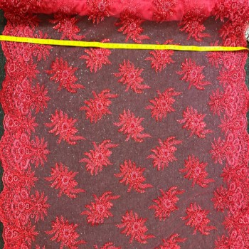 Beaded Lace (Coral)