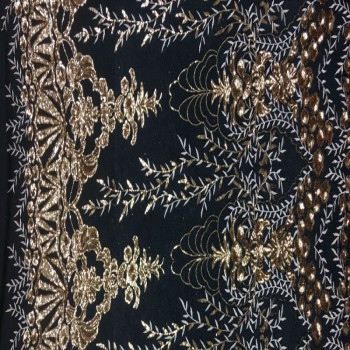 Stretch Sequins (gold)