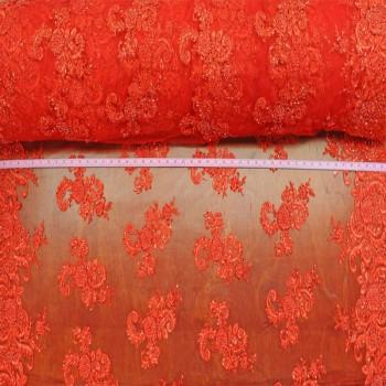 Swirls Border (Red)