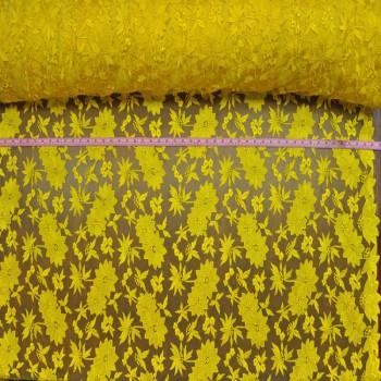 Dainty (Yellow on yellow mesh)