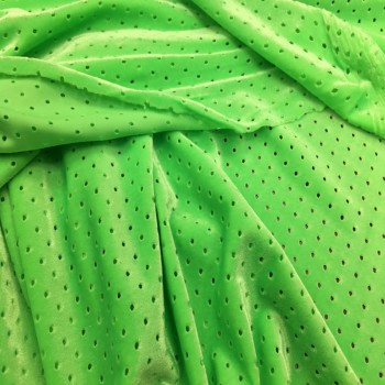 Neon green Athletic velvet