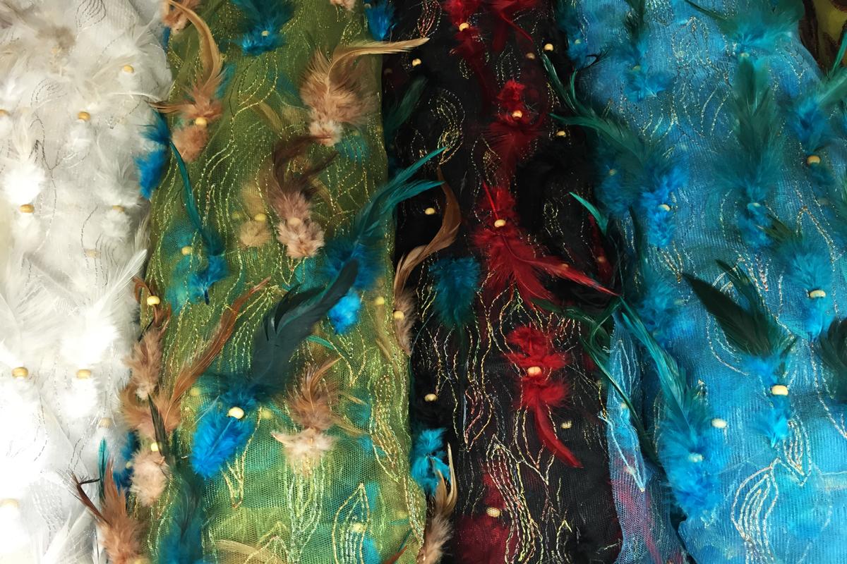 Feathered Fabrics